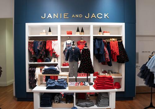 Janie and Jack pop-up