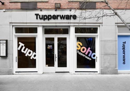 Tupperware exterior