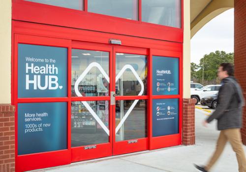 cvs health hub exterior