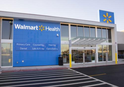 Walmart Health exterior