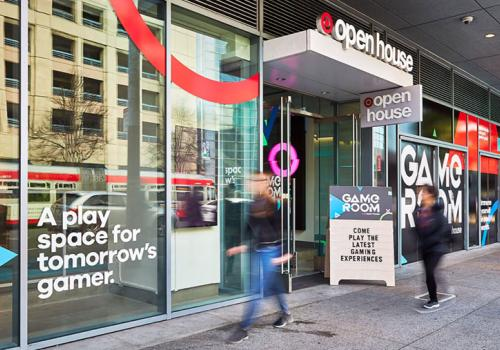 Target's Game Room concept exterior