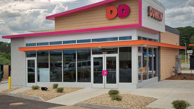 Dunkin storefront