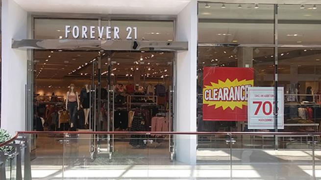 Forever 21 clearance sale