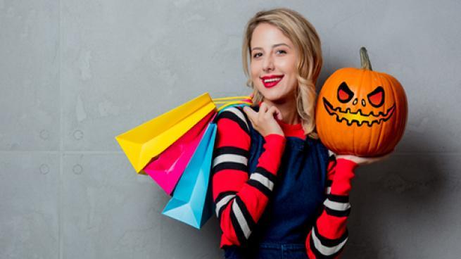 Halloween shopper