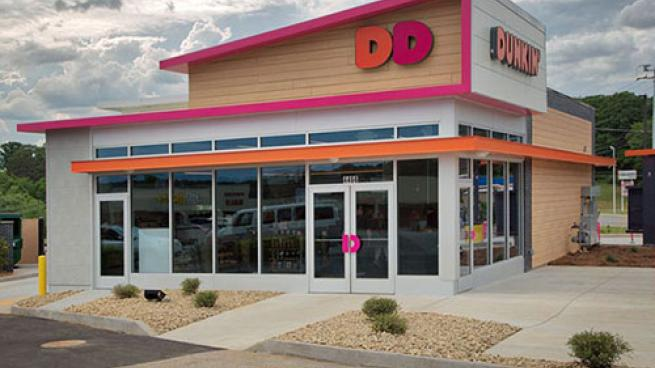 Dunkin' storefront