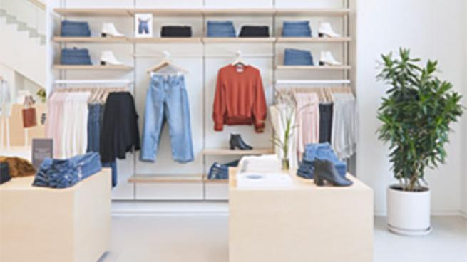 Everlane Store in Williamsburg, Brooklyn