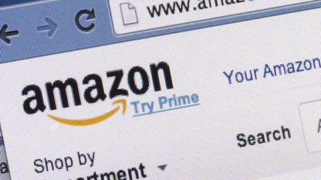 Amazon.com screen