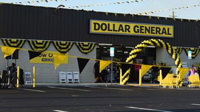 Dollar General storefront