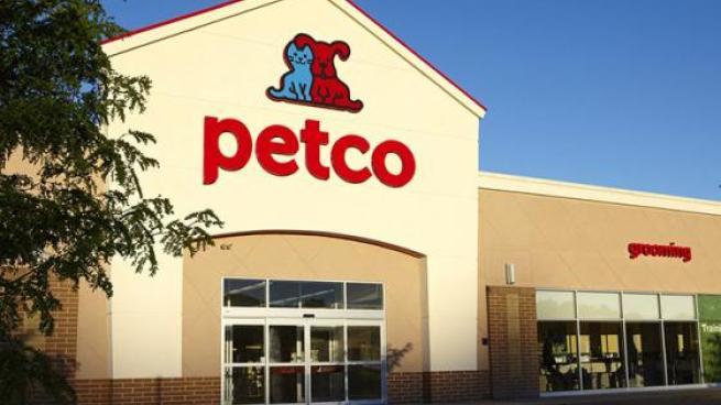 Petco storefront