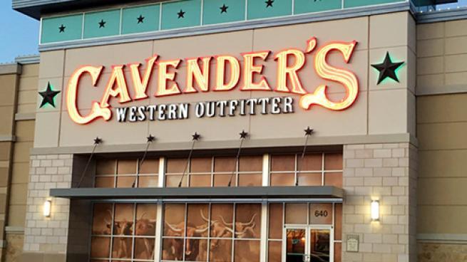 Cavender's storefront
