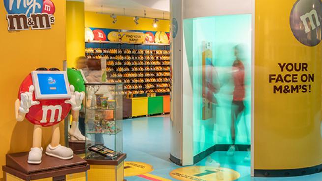M&Ms store interior
