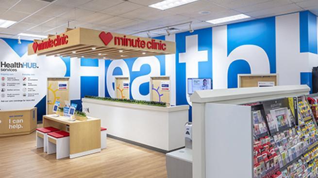 cvs health hub interior