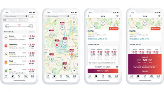 GasBuddy mobile app