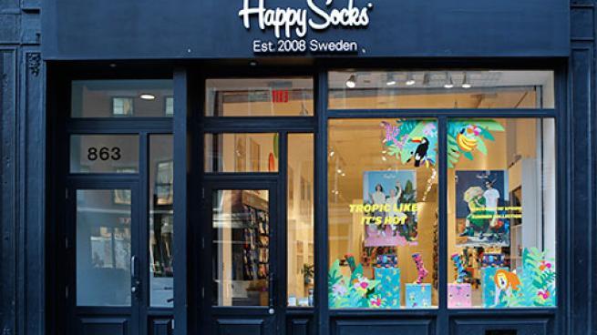 happy socks exterior