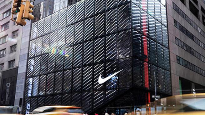 nike nyc exterior