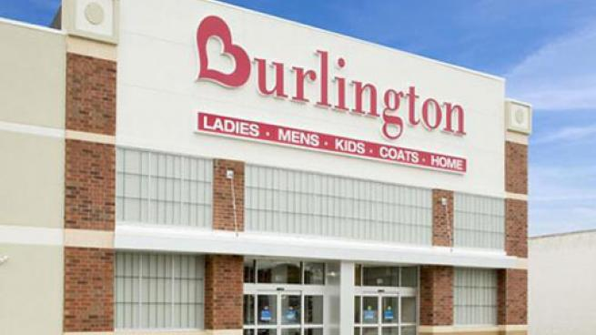 Burlington store exterior