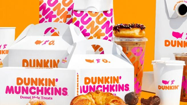 Dunkin' delivery