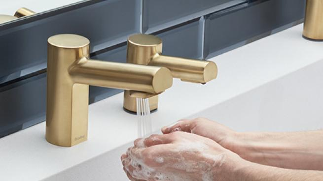 touchless sink