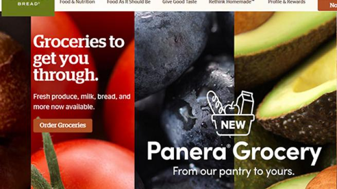 Panera Bread website