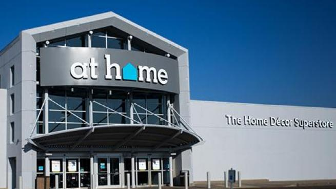 At Home store exterior