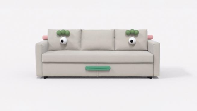 Ikea couch experiment