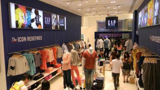 Gap store interior