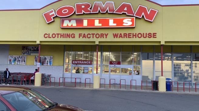 Forman Mills storefront