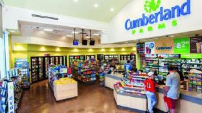Cumberland Farms store interior