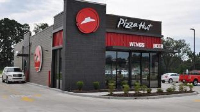 pizza hut drive thru