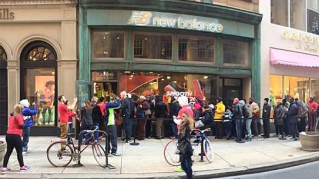 New Balance storefront