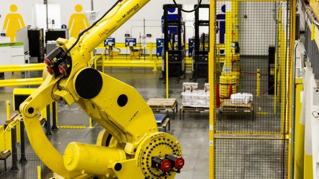 Amazon robotic stower