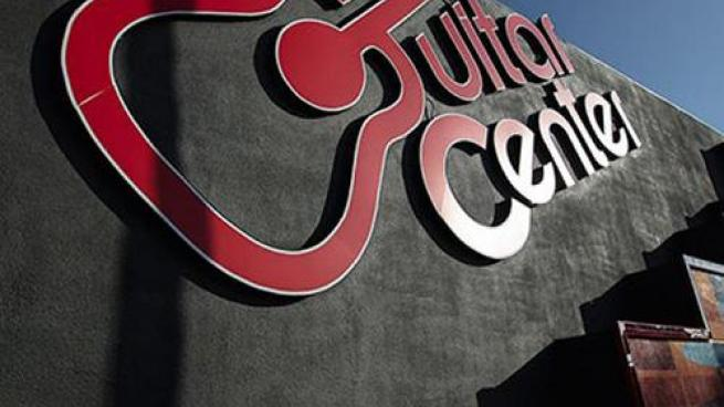Guitar Center sign