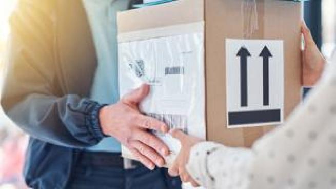 customer returning package