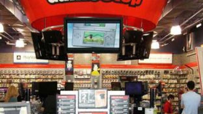 GameStop interior