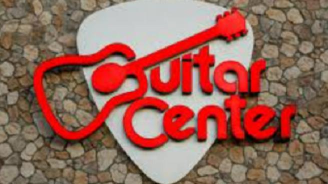 Guitar Center sign