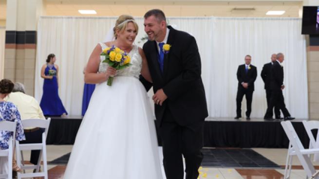 Northwoods Mall wedding