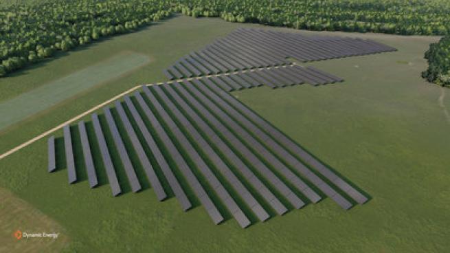 Albertsons solar array