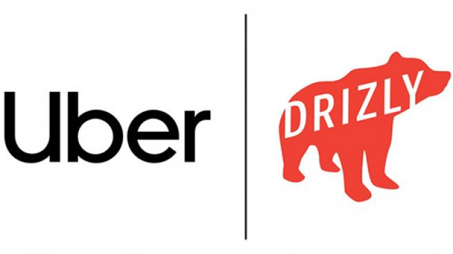 uber and drizly logo