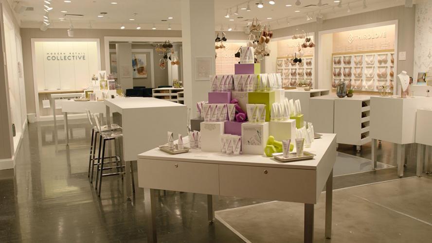 Modern Retail Collective interior