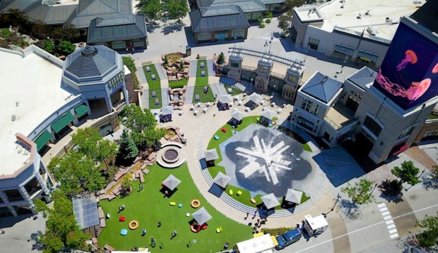 Gateway Center aerial view