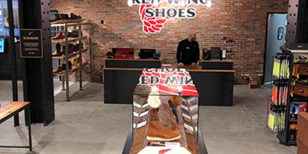 Check out Red Wing Shoe's first-ever