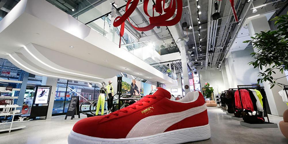 First Look Puma opens massive brand flagship