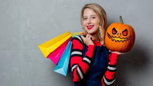 Halloween shopper