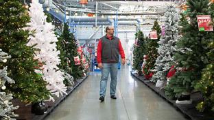 Walmart tree lot