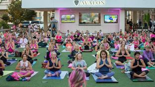 yoga at avalon