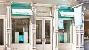 Outdoor view of Tiffany store