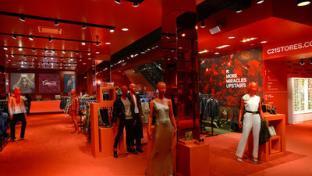 interior of Century 21 store