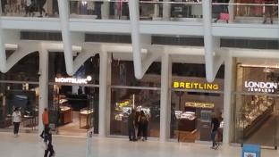 Watch Row at Westfield's World Trade Center mall