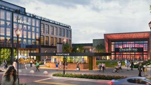 A rendering of the Fenton mixed-use project in Cary, N.C.