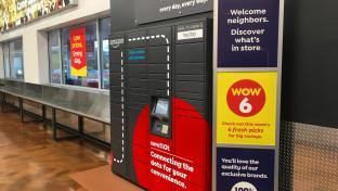 Amazon locker at Save A Lot
